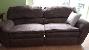 Microfibre Reclining Couch