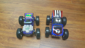 Transforming monster trucks