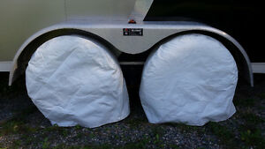 RV tire covers and AC cover for sale