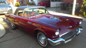 +++   1957 CLASSIC T'BIRD MUST SEE CAR FROM DOWN SOUTH  +++