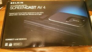 ScreenCast AV 4 Wireless AV-to-HDTV Adapter