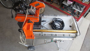 WET TILE SAW WITH STAND FOR RENT