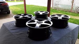 4 SPORT TUNING T5 WHEELS
