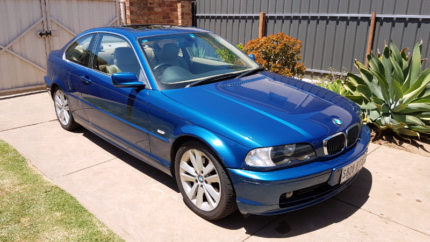 2000 BMW 328Ci Coupe, Auto, Low kms, Books, Excellent Condition! Fulham Gardens Charles Sturt Area Preview