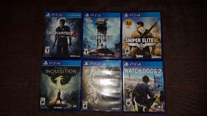 Various games for sale