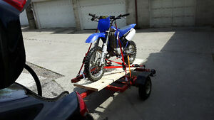 YZ 85 with full racing gear and functional Trailer COMBO