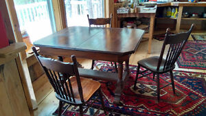 Antique but solid dining table