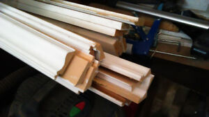 White Baseboards for Sale