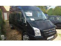 2012 Ford Transit 2.2TDCi 125 T280 Med Roof Van 260 SWB Limited top spec aircon
