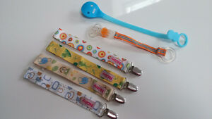 pacifier clips / holders - attaches suces