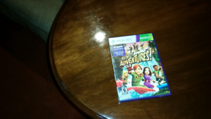 Xbox 360 Kinect adventures game for sale asking $10