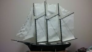 Hand crafted ship