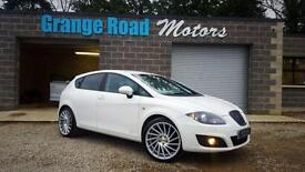 2012 62 SEAT LEON 1.6 CR TDI ECOMOTIVE SE COPA 5D *FULL HEATED LEATHER* DIESEL