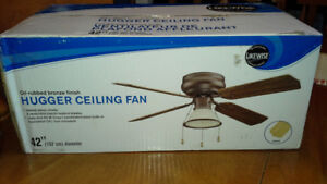 Brand New Ceiling Fan with light