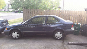 *** Parts Car*** 1999 Toyota Tercel (2 door)