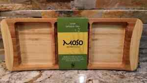 Brand new Moso bamboo ware appetizer tray