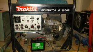 12000 watt Makita Generator