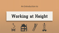 SPECIAL!! WORKING AT HEIGHTS!! ONLY $169!!