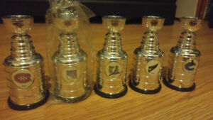 NHL MINI STANLEY CUPS.. $40 FOR ALL OR $10 EACH