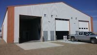 Brand New Construction Shop / Storage Space for rent