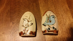 birds ornaments and  salt & papper shaker