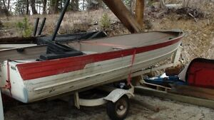 14 foot commander fishing boat with Road Master Trailer