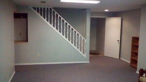 Spacious clean basment suite.Move in Ready !