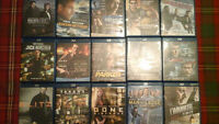 Lot de 56 films DVD et Blu ray