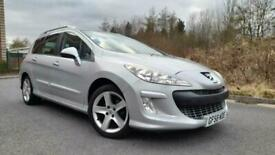 image for PEUGEOT 308 SW 1.6 HDI SPORT 110BHP ESTATE 2008/58 ONLY £1290