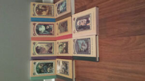 Selling A Series of Unfortunate Events by Lemony Snicket.