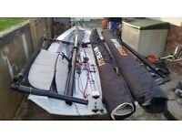 RS700 dinghy trapezing skiff