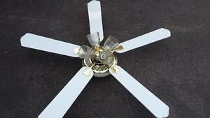 Ceiling Fan with 3 decorative lights