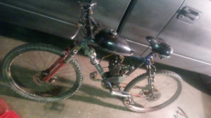 Motorized/gas powered bicycle