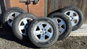 P255 / 70R18 Tires and Rims