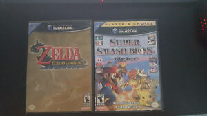 Super Smash Bros Melee and Wind Waker complete in box!