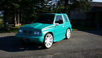 RestoMod Custom 1995 Suzuki Sidekick Convertible MUST SEE