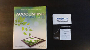 Accounting Principles Volume 1 (Wiley Seventh Edition) + Code Kitchener / Waterloo Kitchener Area image 1