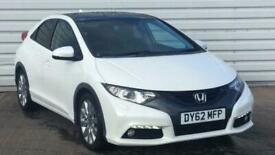 image for 2012 Honda Civic 1.8 i-VTEC EX GT 5dr Hatchback petrol Manual