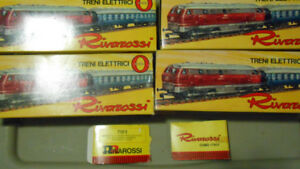 O Model Trains, RivaRossi passengers or rolling stock, in OB new