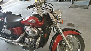Honda Shadow Ace American Classic with Accesories-Trade or Cash