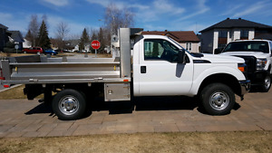 Ford f350 aluminum dump body