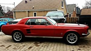 1967 Mustang mostly restored