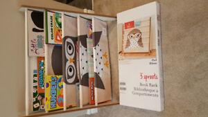 "Brand new 24"" book shelf with box"