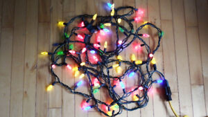 Two 35 Sets of NOMA LED Xmas Lights Multi-Color Indore & Outdore