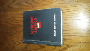 Massey Ferguson 750 760 Combine Service Manual