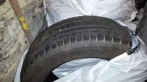 Almost new 20 in. Tires for pick up truck.