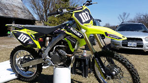 Rmz 250 2016 very low hours & lots of extras
