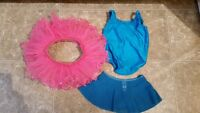 Size 2 Ballet body suit and two tutu