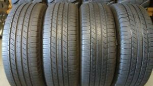 Set of 4 245/60/18 Michelin 80% tread