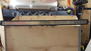 54 inch curved light Bar with flood lights